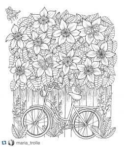 Free Graphic Coloring Pages - Image 16b