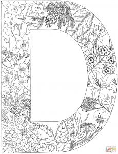 Free Graphic Coloring Pages - Alphabet Coloring Pages D Awesome Alphabet Coloring Pages Free Printable Fresh Printable Pin Od Fatma 11h
