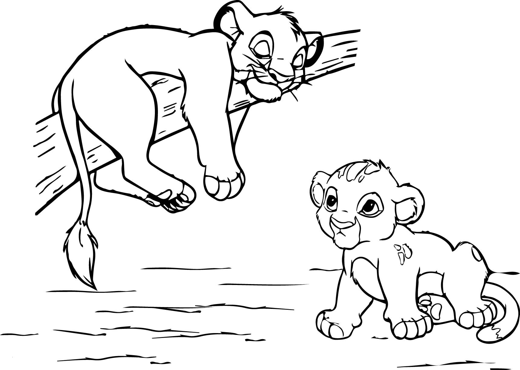 free lion guard coloring pages Collection-Lion King Coloring Pages Disney 4-r