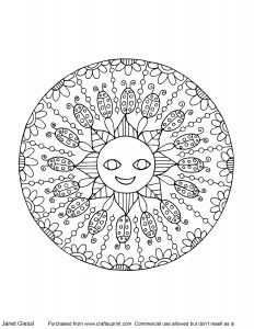 Free Mandala Coloring Pages Pdf - Kids Coloring Pages Summer Mandala Coloring Books for Kids Inspirational Summer Mandala 16d
