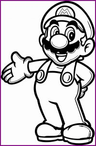 Free Mario Coloring Pages - Mario Brothers Coloring Books Beautiful Mario Bros Coloring Pages Awesome Mario Coloring Pages Line O D 12q