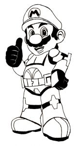 Free Mario Coloring Pages - Free Printable Mario Coloring Pages for Kids Coloring Sheets Pinterest 15i