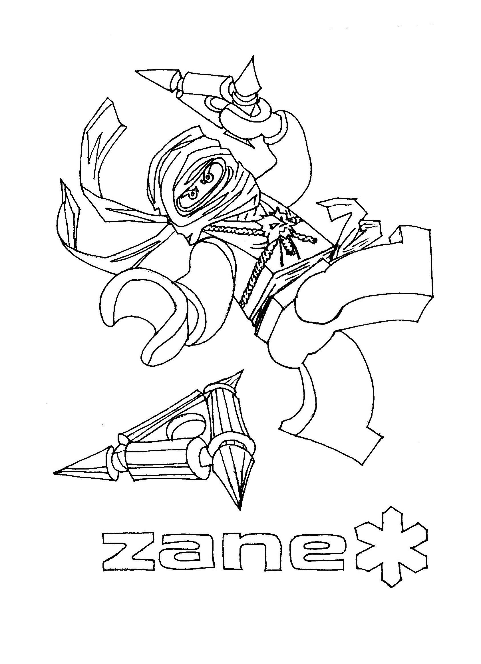free ninja coloring pages Collection-Coloring Pages 11-g