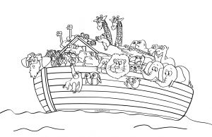 Free Noah Ark Coloring Pages - Bible Coloring Pages fortune Noah S Ark Printable Sunday School 753 Best Coloring Page Adult 2f