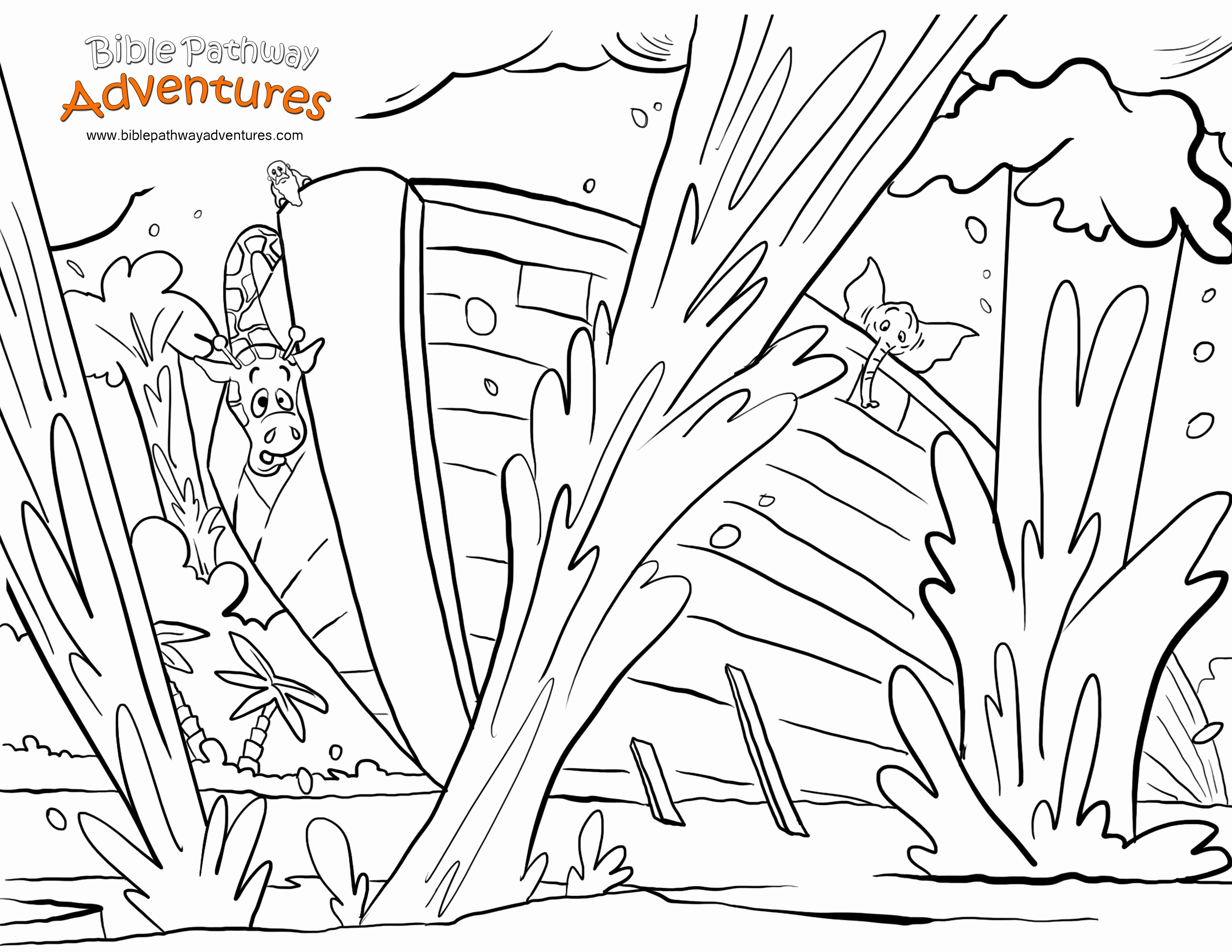 free noah ark coloring pages Download-Coloring Pages for Sunday School New Free Coloring Pages for Sunday School Fabulous Free Bible Coloring 17-h