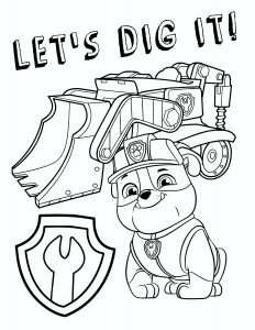 Free Paw Patrol Coloring Pages - Paw Patrol Free Printable Coloring Pages 4p