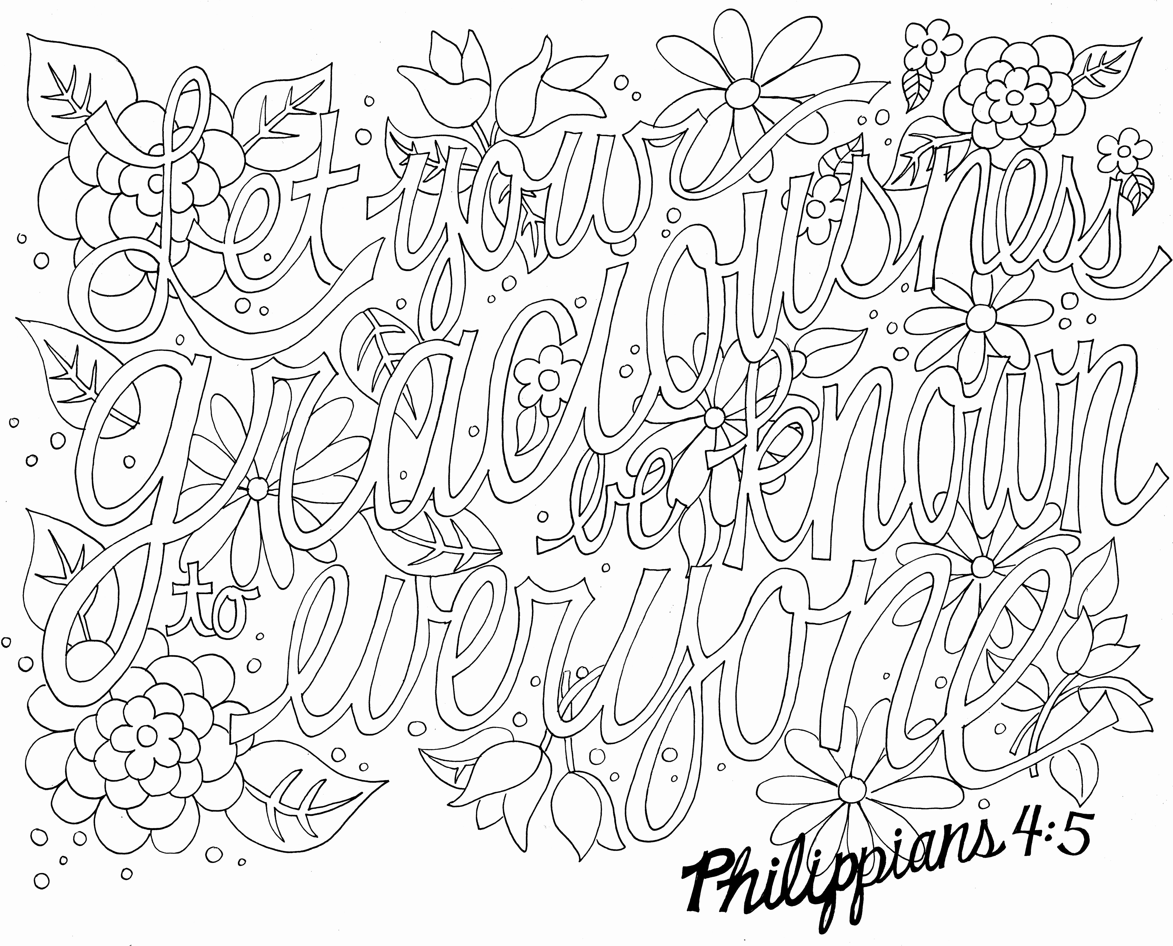 graphic relating to Free Printable Scripture Coloring Pages for Adults referred to as 30 Free of charge Printable Bible Coloring Webpages with Scriptures