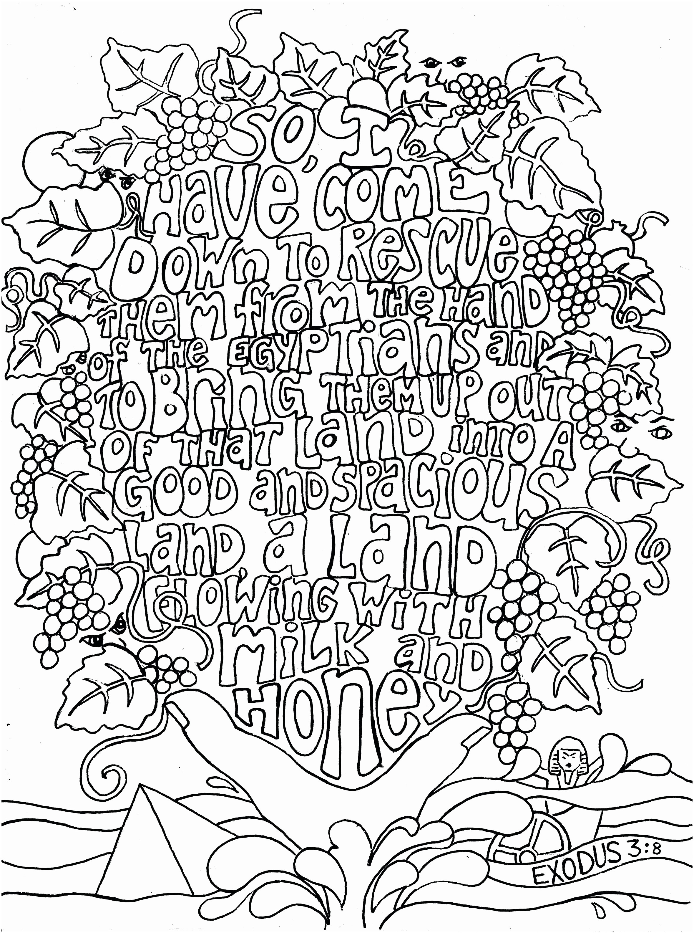image about Bible Lessons for Adults Free Printable named 30 No cost Printable Bible Coloring Web pages with Scriptures