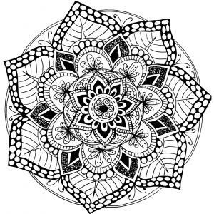 Free Printable Kaleidoscope Coloring Pages - A Free Printable Mandala Coloring Page 60 More Available On Mondaymandala… 10h