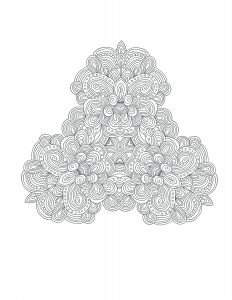 Free Printable Kaleidoscope Coloring Pages - Free Adult Coloring Book Pages by Blue Star Coloring Books Simply Print Color and Relax Patterns Kaleidoscope Adultcoloring Coloringbook 11l