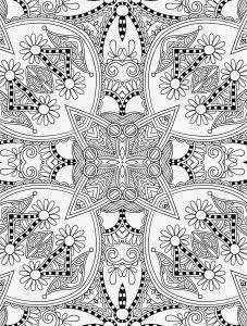 Free Printable Kaleidoscope Coloring Pages - Stained Glass Coloring Book top Free Printable Christmas Coloring Pages Stained Glass Free 5f