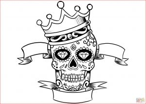 Free Printable Skull Coloring Pages - Crown Drawing Coloring Pages Crown Crown Coloring Page Crown Template 0d 19h