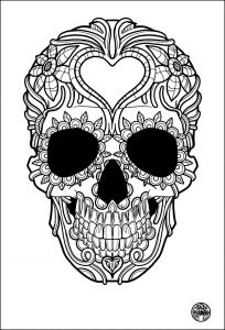 Free Printable Skull Coloring Pages - 19 Of the Best Adult Colouring Pages Free Printables for Everyone 12s