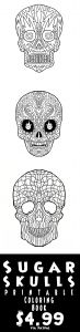 Free Printable Skull Coloring Pages - Print Your Own Plciated Coloring Sugar Skull Coloring Pages Great for Halloween Decorations 10q