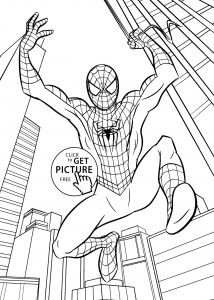 Free Printable Spiderman Coloring Pages - Easy Spiderman to Draw Free Printable Spiderman Coloring Pages New Step by Step Drawing for 10c