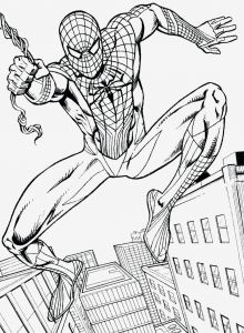 Free Printable Spiderman Coloring Pages - Free Printable Spiderman Coloring Pages Luxury Fabulous Spiderman 11c
