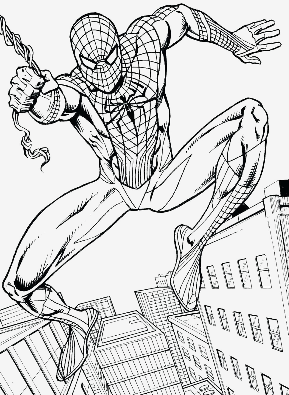 free printable spiderman coloring pages Collection-Free Printable Spiderman Coloring Pages Luxury Fabulous Spiderman 14-o
