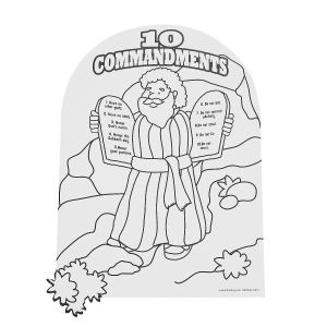 Free Printable Ten Commandments Coloring Pages - Wonderful Ten Moses 10 Mandments Coloring Page 10 Mandments for Kids Coloring Pages Fresh Free Coloring Page 18p