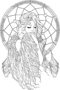 Free Printable Ten Commandments Coloring Pages - Fantasy Coloring Pages 9n Lineartsy Free Adult Coloring Page Dreamcatcher Lined 19k