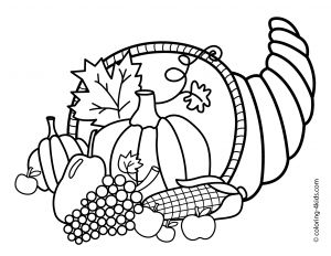 Free Thanksgiving Coloring Pages for Preschoolers - Free Printable Thanksgiving Coloring Pages 4o
