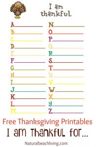 Free Thanksgiving Coloring Pages for Preschoolers - Thanksgiving Coloring and Activity Printables I Am Thankful for Thanksgiving Abc S Thankful Tree Coloring Pages Free Thanksgiving Printables for Kids 15s