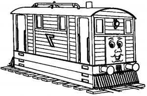 Free Thomas Train Coloring Pages - Thomas Train Coloring Pages Printable Thomas the Train Christmas Coloring Pages 20t