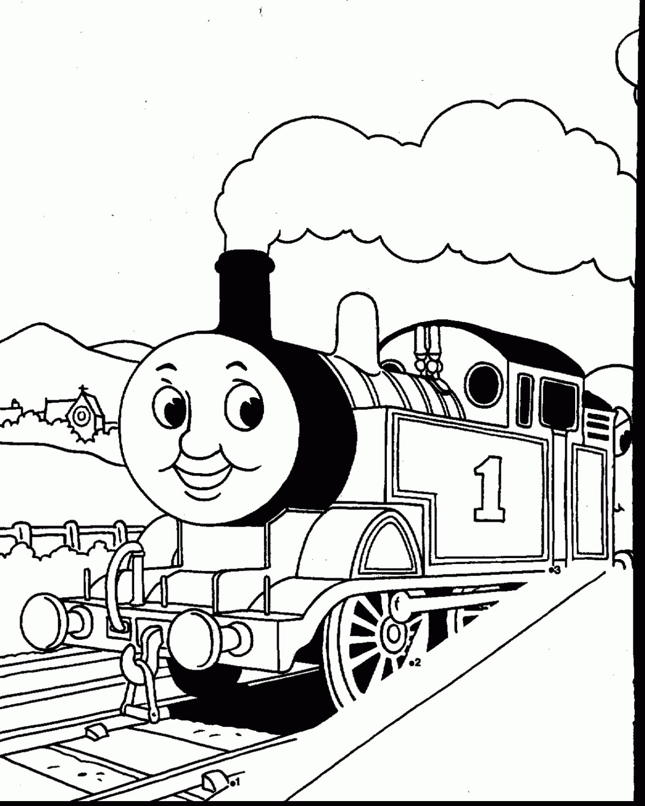 Free thomas train coloring pages simple train coloring page thomas the train coloring pages best