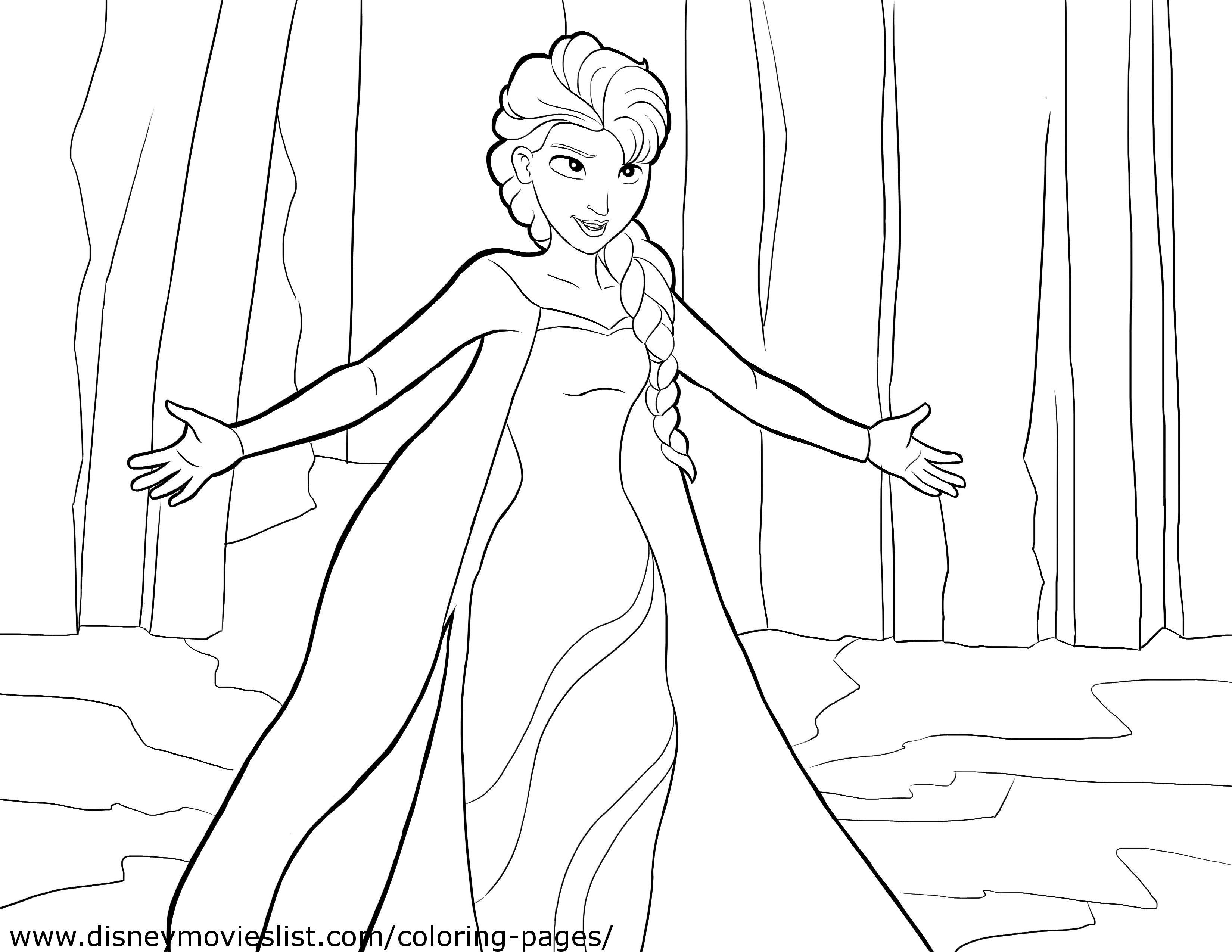 19 Frozen Coloring Pages Collection Coloring Sheets