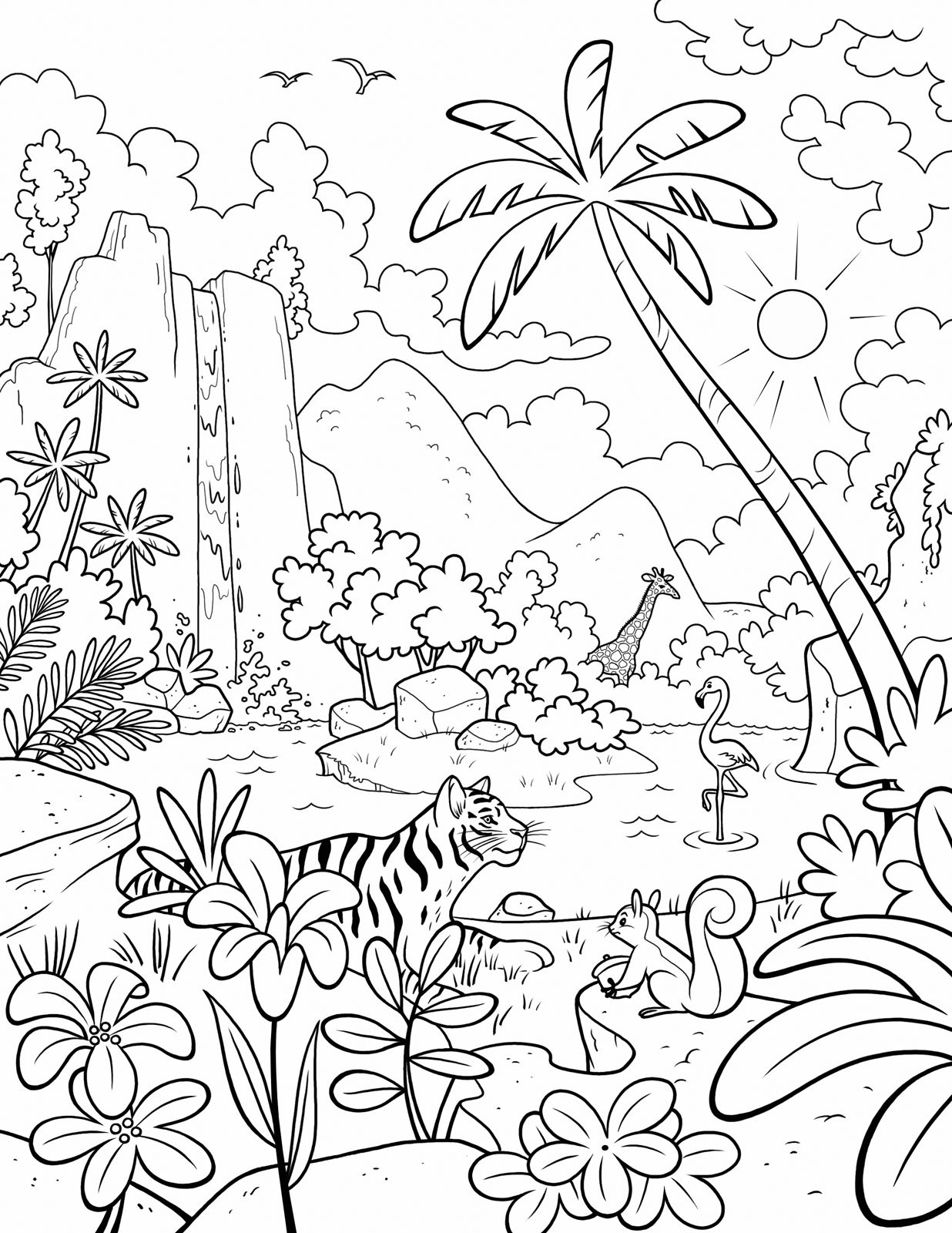 garden of eden coloring pages Download-A LDS Primary coloring page from lds ldsprimary 15-k