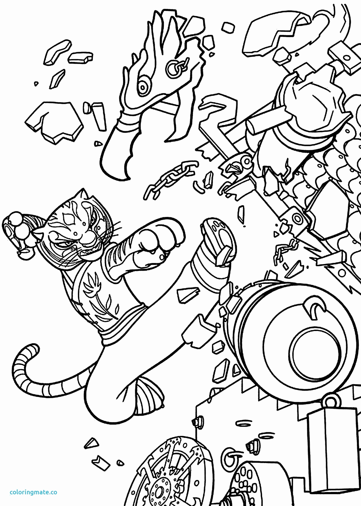 garden of eden coloring pages Collection-0d Garden Eden Coloring Pages Awesome Kung Fu Coloring Pages 20-r
