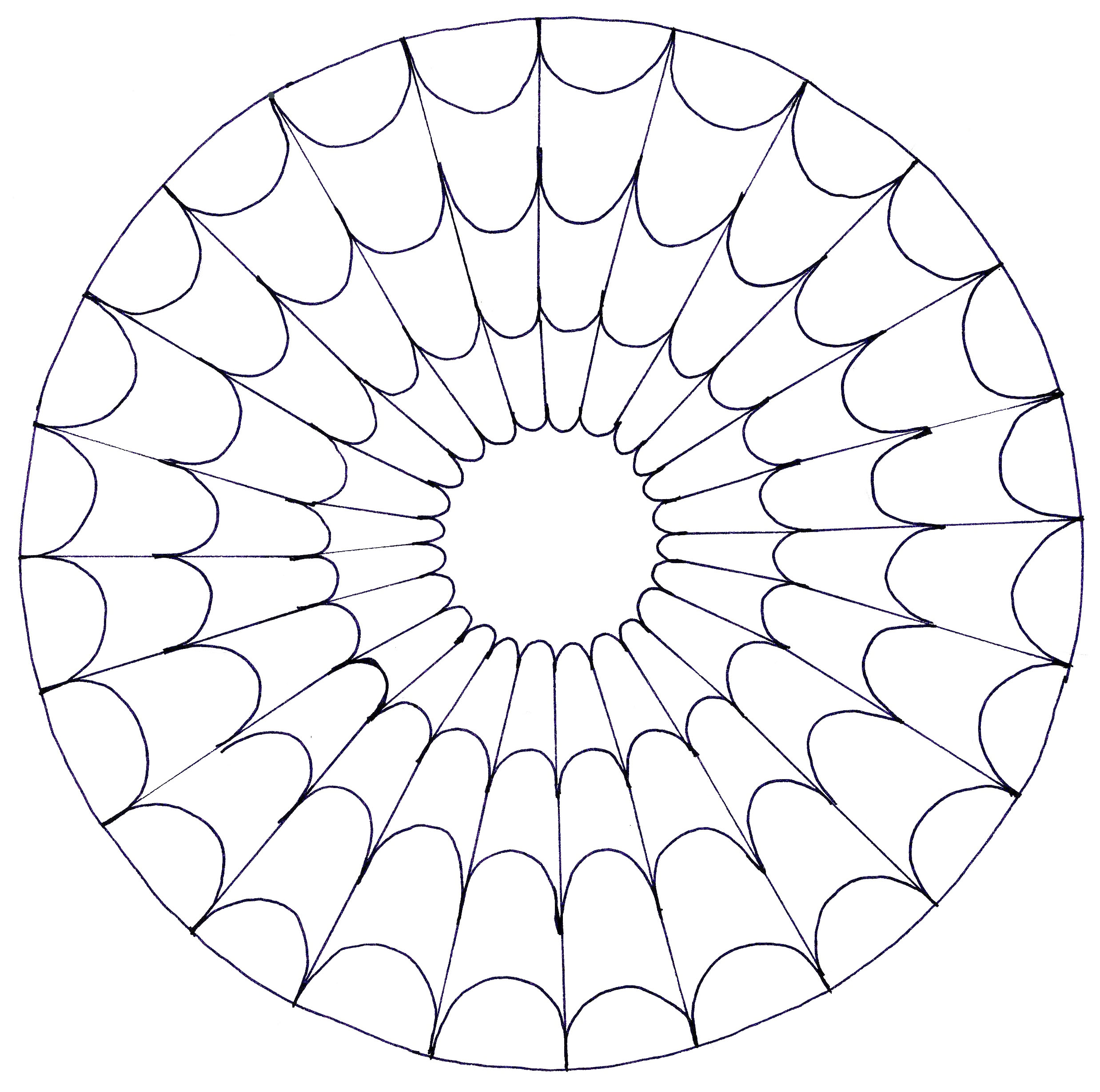 20 Geometric Pattern Coloring Pages Collection - Coloring ...