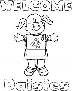 Girl Scout Coloring Pages - Girl Scout Coloring Pages 9u Awesome Free Printable Girl Scout Coloring Pages 5 11j