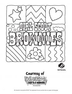 Girl Scout Coloring Pages - Girl Scout Brownies Coloring Pages Daisy Girl Scout Coloring Sheets Free Girl Scouts Coloring Pages 5i