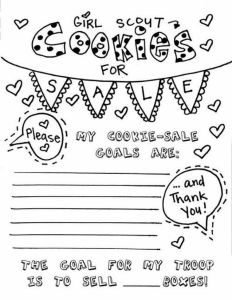 Girl Scout Coloring Pages Cookies - Girl Scout Cookie Coloring Pages 8 P Modern Ideas Girl Scout Cookie Coloring 15k