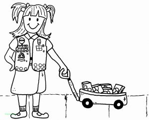 Girl Scout Coloring Pages Cookies - Girl Scouts Coloring Pages for Daisies New Beautiful Coloring Pages for Girls 10 and Up Printables 3k
