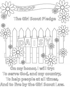 Girl Scout Coloring Pages Cookies - Daisy Girl Scout Coloring Pages Download Inspirational New Daisy Girl Scout Law Coloring Pages Coloring Pages 19i
