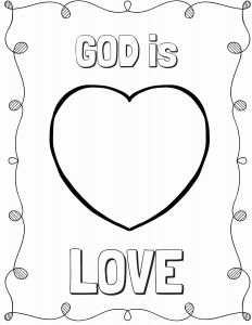 God is Love Coloring Pages - God is Love Coloring Pages Elegant Color town Coloring Pages What Grandma Teaches Me 20h