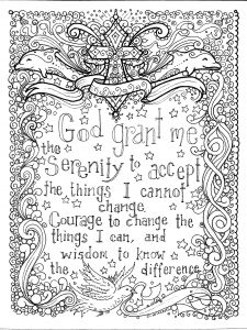 God is Love Coloring Pages - Prayers to Color An Adult Coloring Book Deborah Muller Chubby Mermaid Deborah Muller Amazon Books 15a