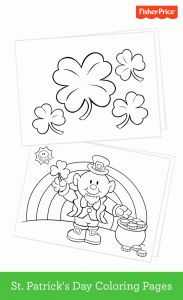God's Promise Rainbow Coloring Pages - St Patrick Day Color 17b