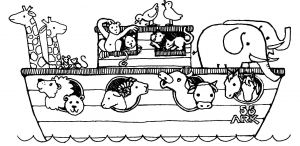 God's Promise Rainbow Coloring Pages - for Noah Ark Coloring Pages Children S Page Mofasselme 17f