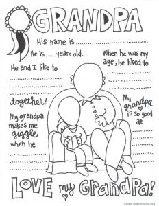 Grandparents Day Coloring Pages - 3b5b0aec9d9c17d3e6ffbfa 1g