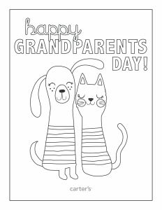 Grandparents Day Coloring Pages - Grandparents Day Free Coloring Pages 7g