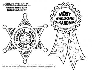 Grandparents Day Coloring Pages - Grandparents Day Coloring Page Free Grandparents Awards Printables 9q