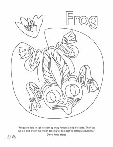 Haida Art Coloring Pages - First Nations Animal Coloring Pages Best Image Page 5r