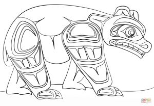 Haida Art Coloring Pages - Image Result for Aboriginal Children Coloring Pages Printable Haida Art 17s