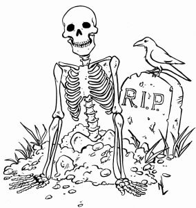 Halloween Skeleton Coloring Pages - Halloween Skeleton Coloring Pages Lovely Fresh Halloween Skeleton Coloring Pages Letramac 7t
