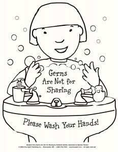 Hand Washing Coloring Pages for Preschoolers - Swing Set Coloring Page Beautiful top Free Germ Coloring Pages Kid Color Sick Day 2550x3300 8c