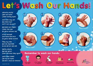 Hand Washing Coloring Pages for Preschoolers - Childrens Time Out Poster 16s
