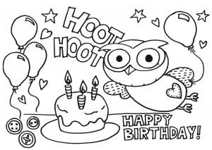 "Happy Birthday Mommy Coloring Pages - Milk Eyes ""giggle and Hoot"" Free Download Colouring Pages Birthday Party Activities for Young Kids 9h"