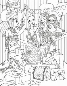 Happy Birthday Mommy Coloring Pages - Free Printable Moana Birthday Cards Elegant Coloring Pages Line New Line Coloring 0d Archives Con Scio 5t